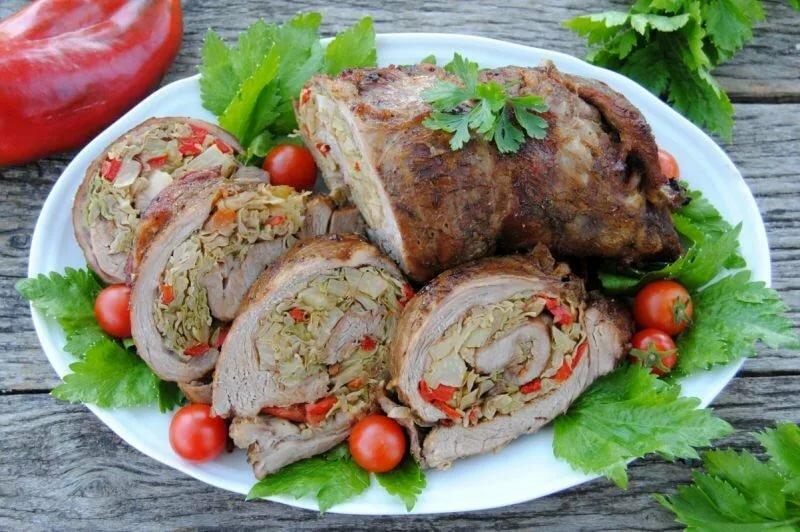 руляда из свинины пошаговый рецепт с фото всем
