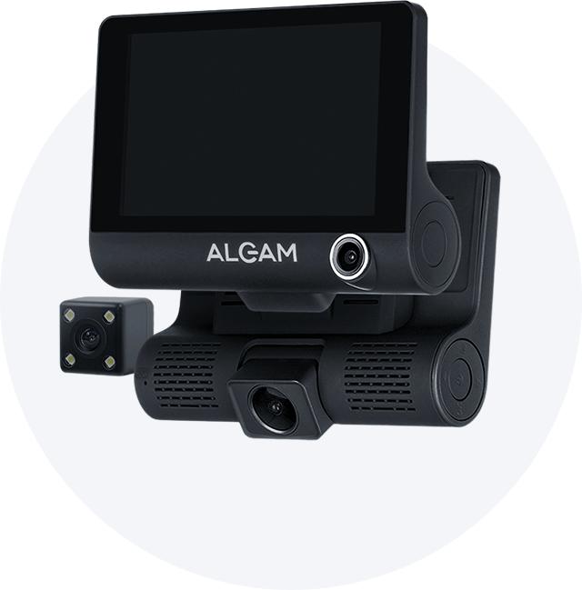 Видеорегистратор с GPS, антирадаром и 3 камерами в СтаромОсколе