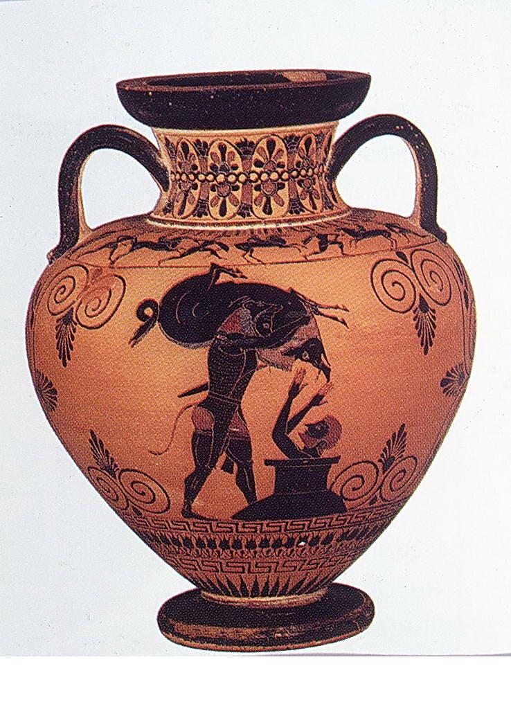 Картинки греческих амфора