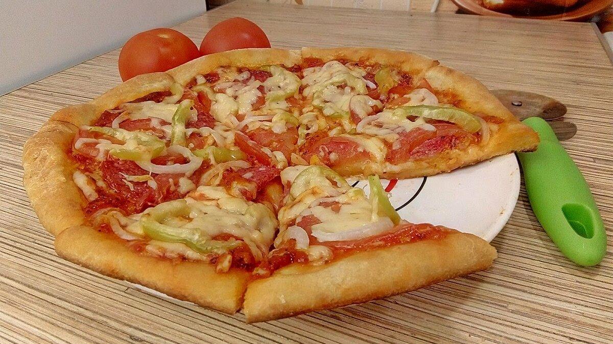тесто для пиццы без дрожжей с фото подобрать хороший