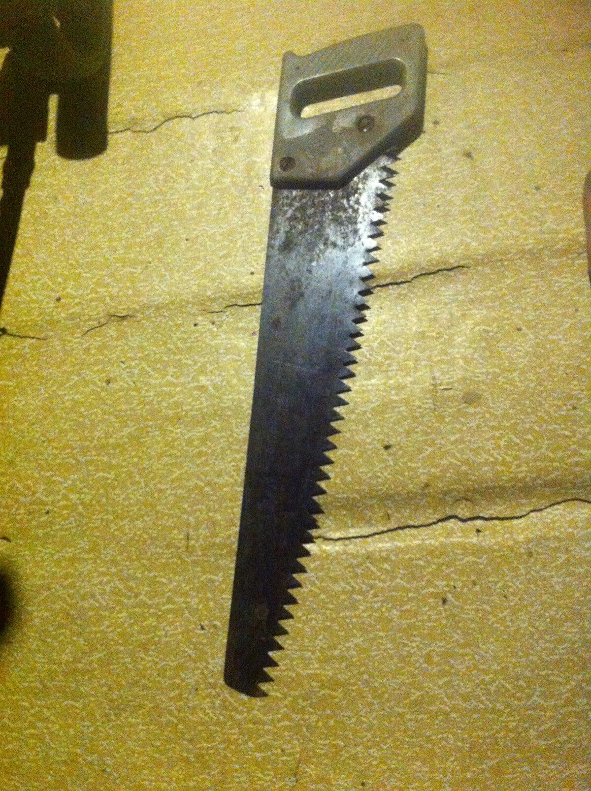 Ножовка из двуручной пилы