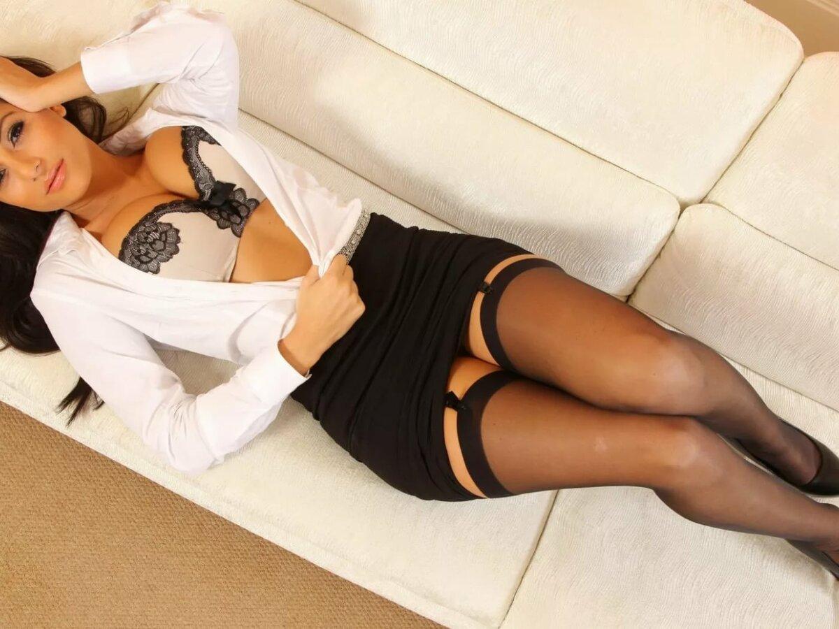 Фото в юбке и чулки традиционный порнокино