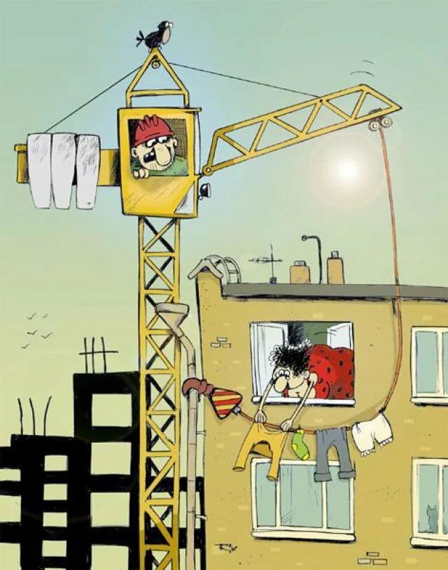 Картинки про строителя смешные, картинки стиляги смешные