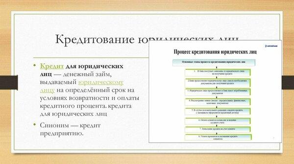 Калькулятор кредита для юр лиц