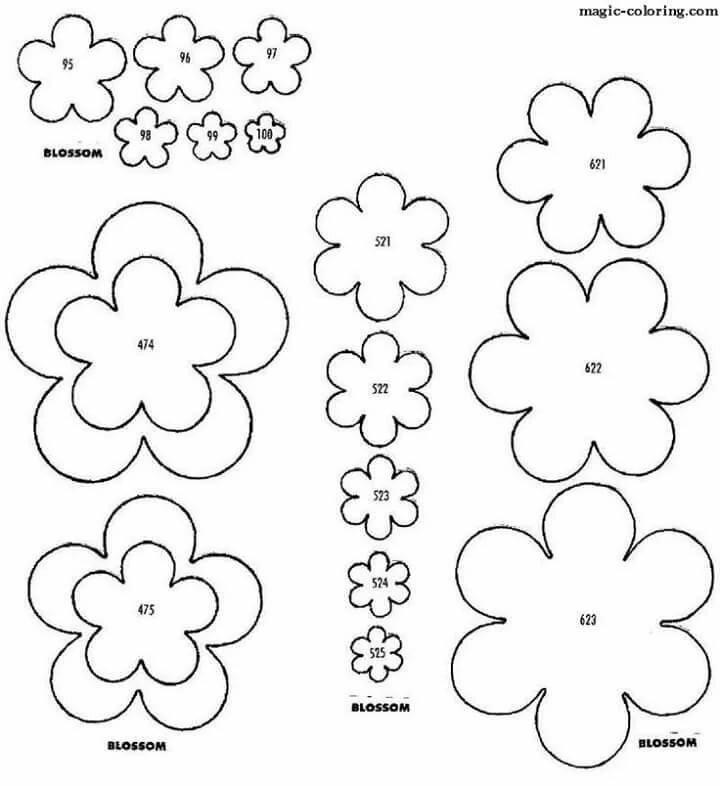 Цветы на открытку схема, днем