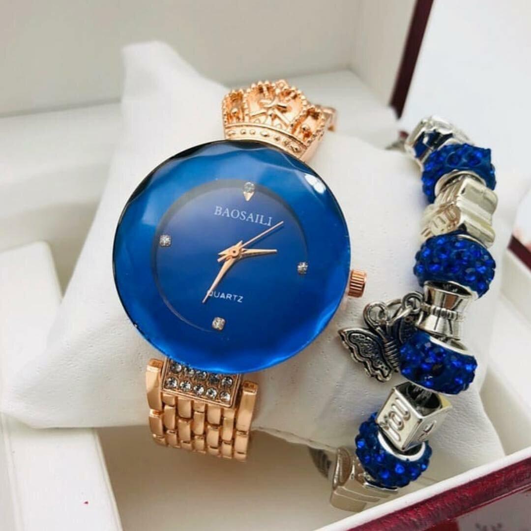 Часы Baosaili и браслет Pandora в подарок в Починоке