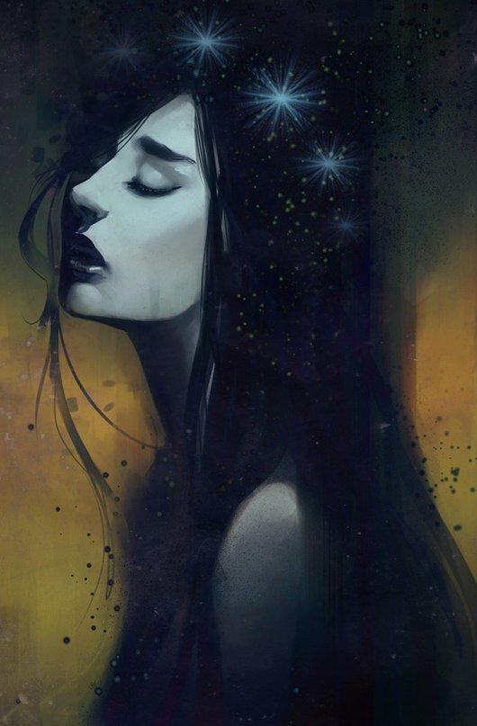 Картинки портреты ведьм плачущие