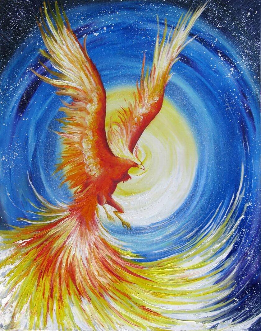 Картинки рисунки феникс