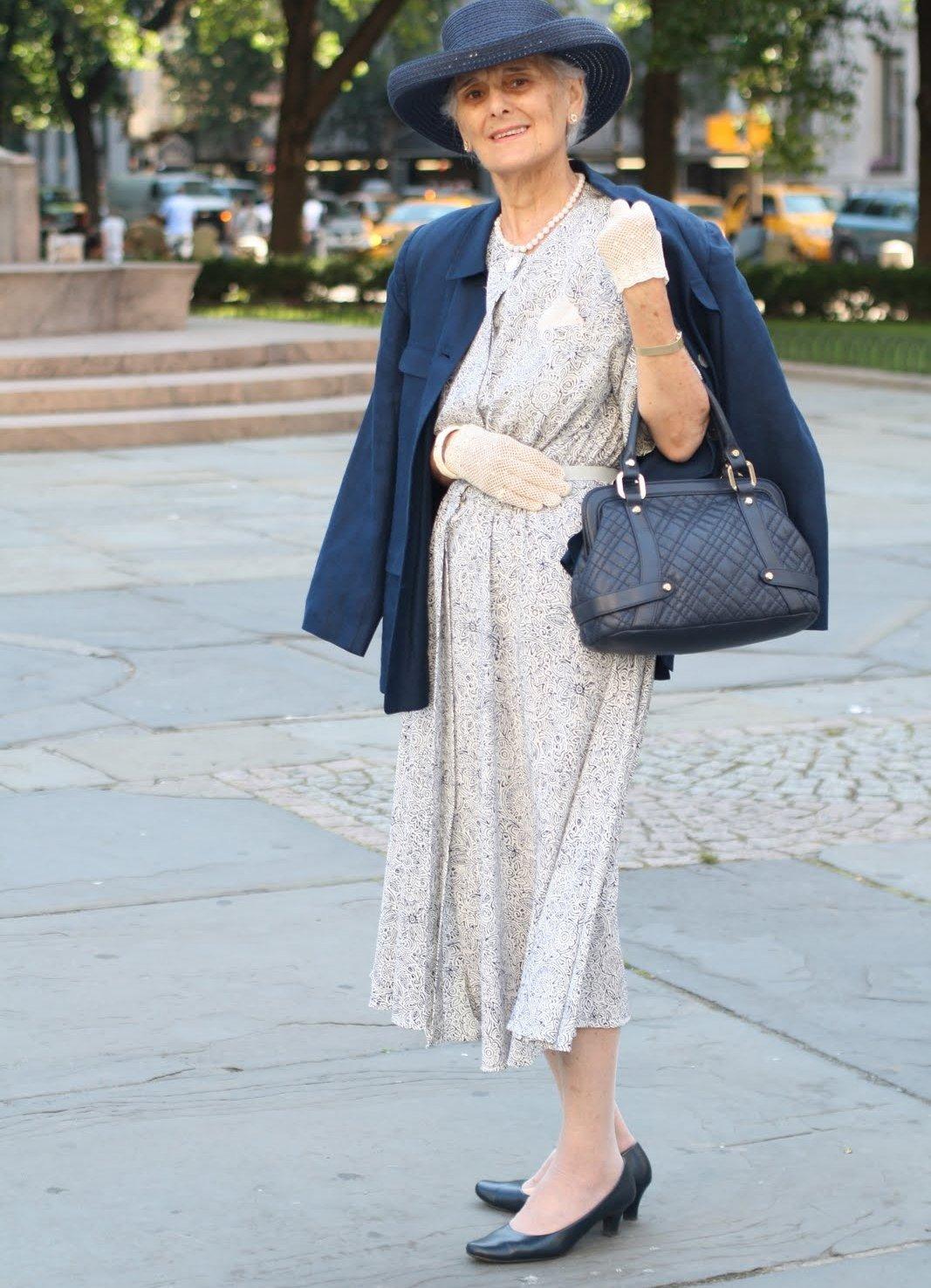 Мода для пожилых женщин изоражения
