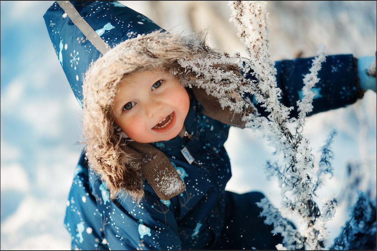 Картинки малышка зима