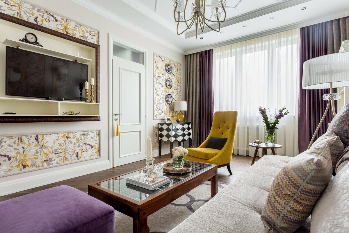 выглядит дизайн квартир в современной классике фото твой