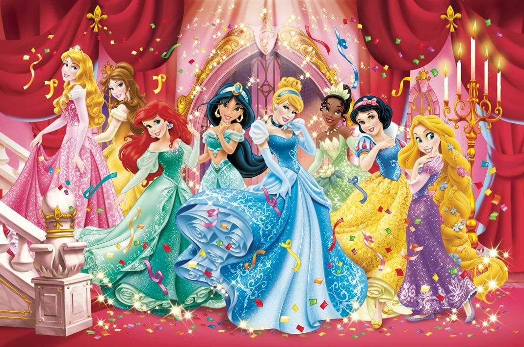 Картинки принцессы на балу