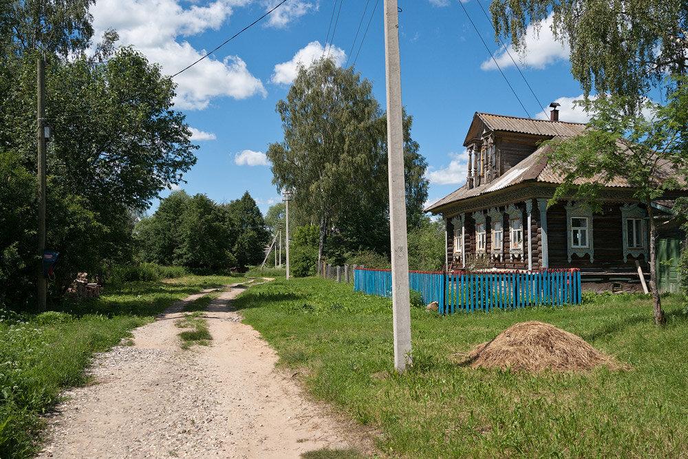 Картинки улиц деревень