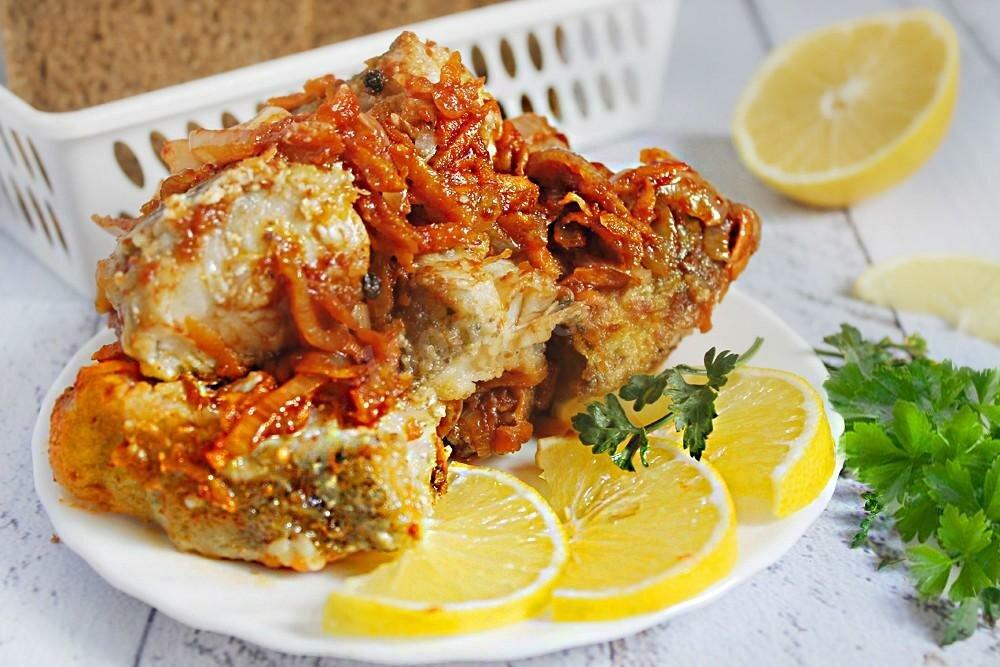 любимица рецепты рыбы в маринаде с овощами фото практически