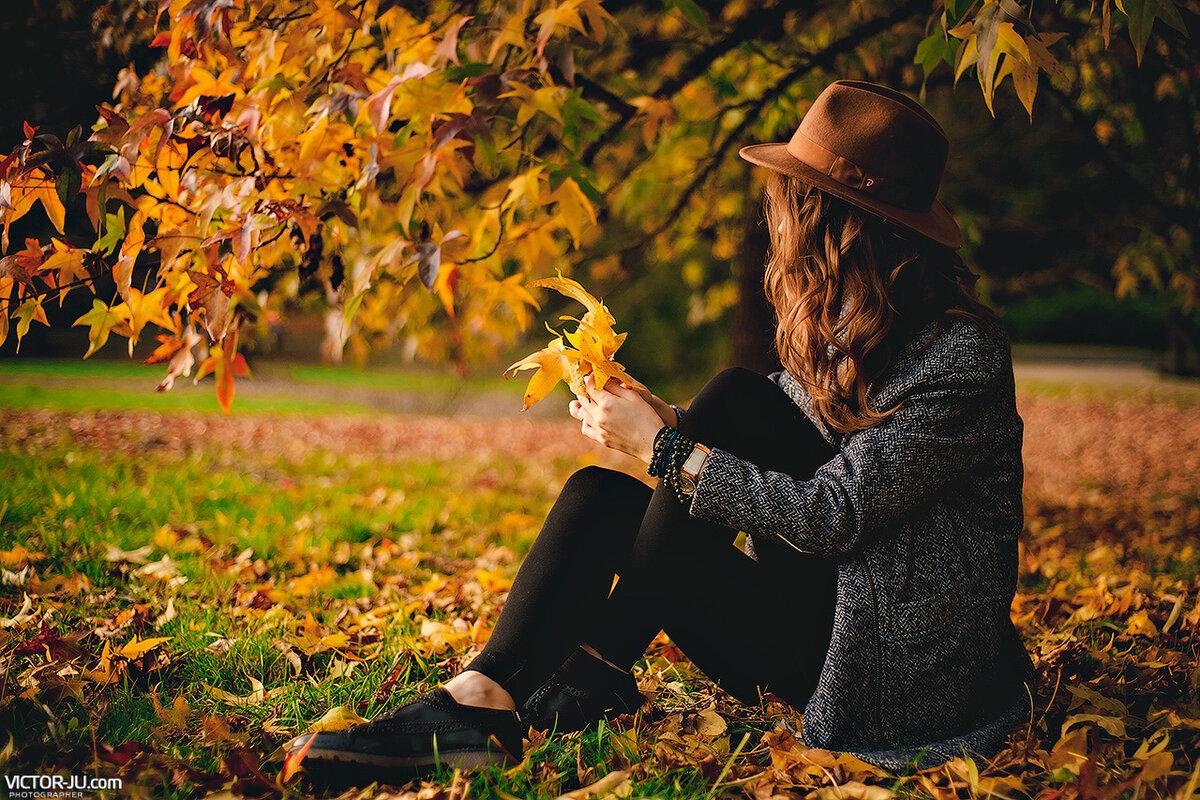 Фото с листьями на аву