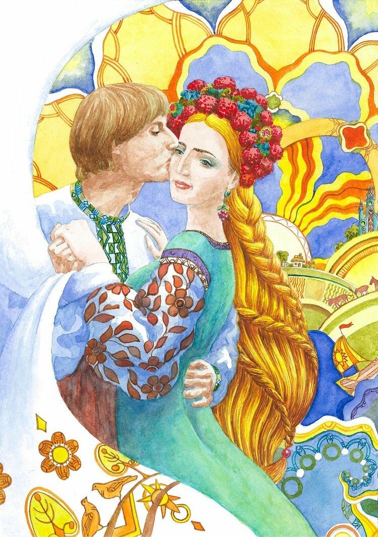 Украинские народные сказки с картинками
