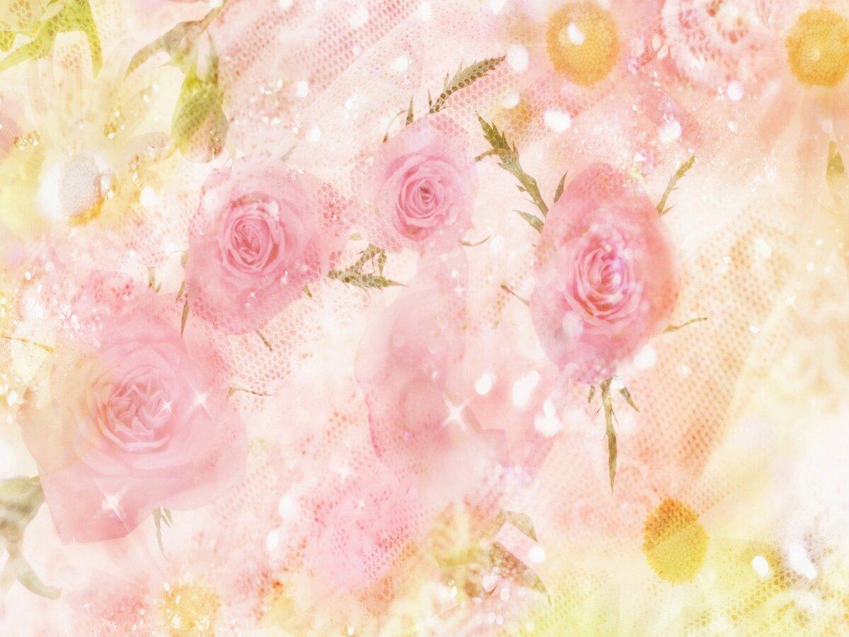 Картинка нежные цветы для фотошопа