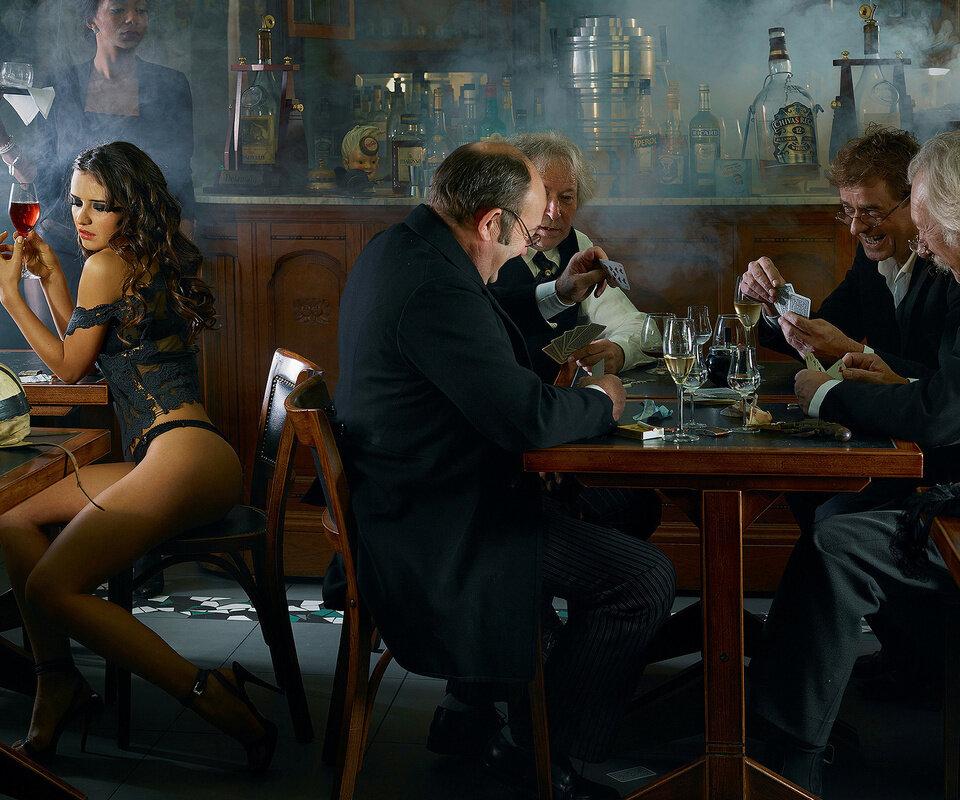 наташа стоун познакомилась с тремя парнями в баре - 4