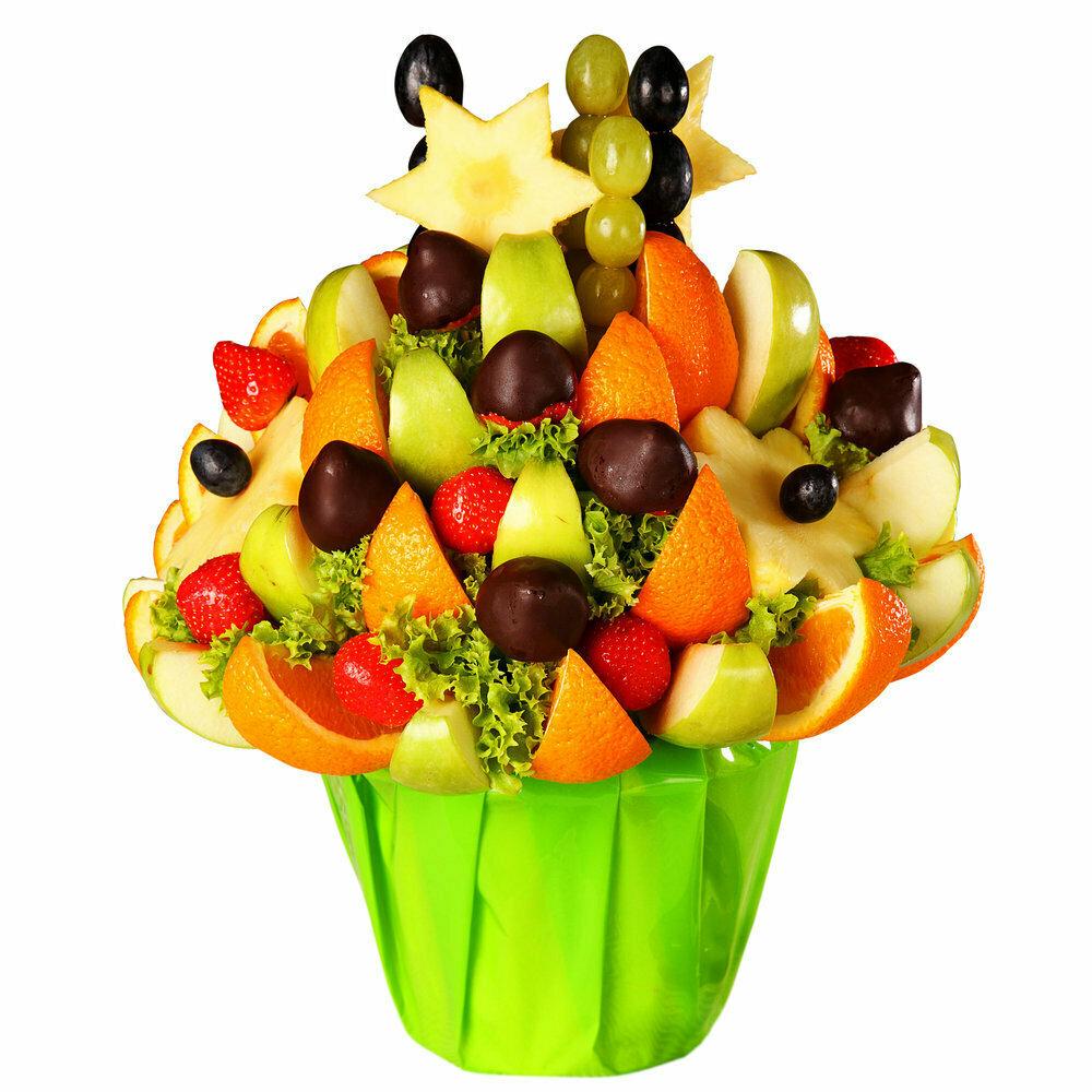 Составление букет из фруктов