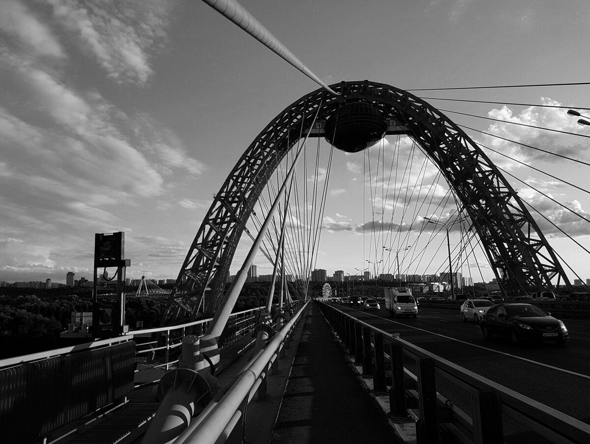 Москва. Живописный мост.
