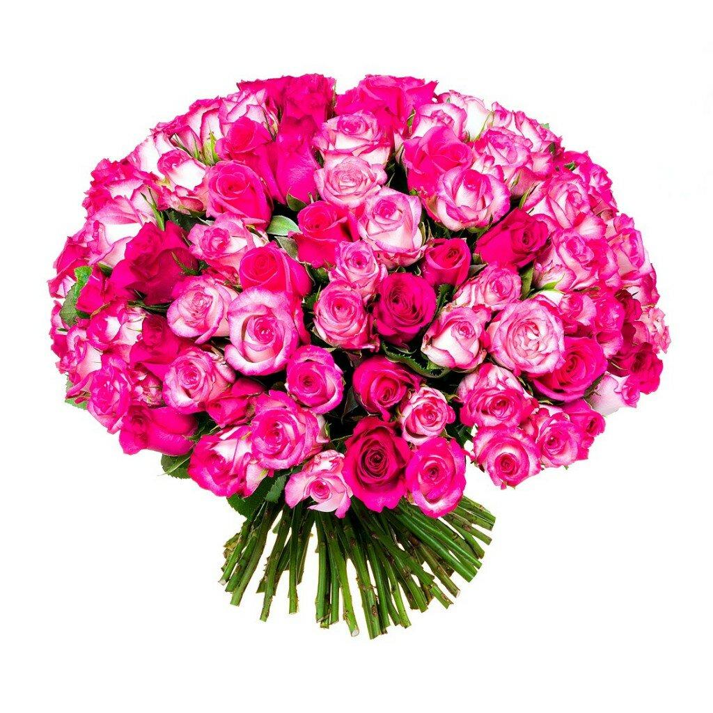 Открытка 101 роза, прикольная окей