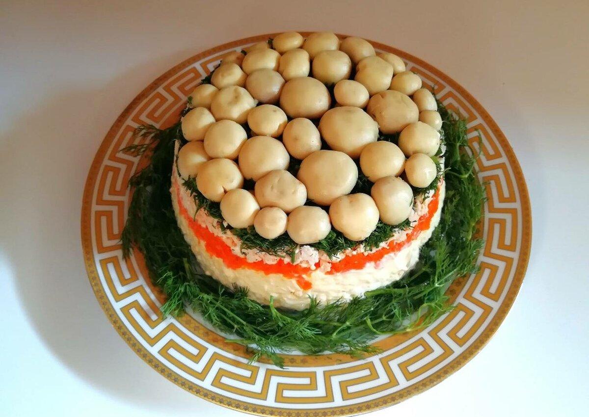 Грибной салат рецепты с фото