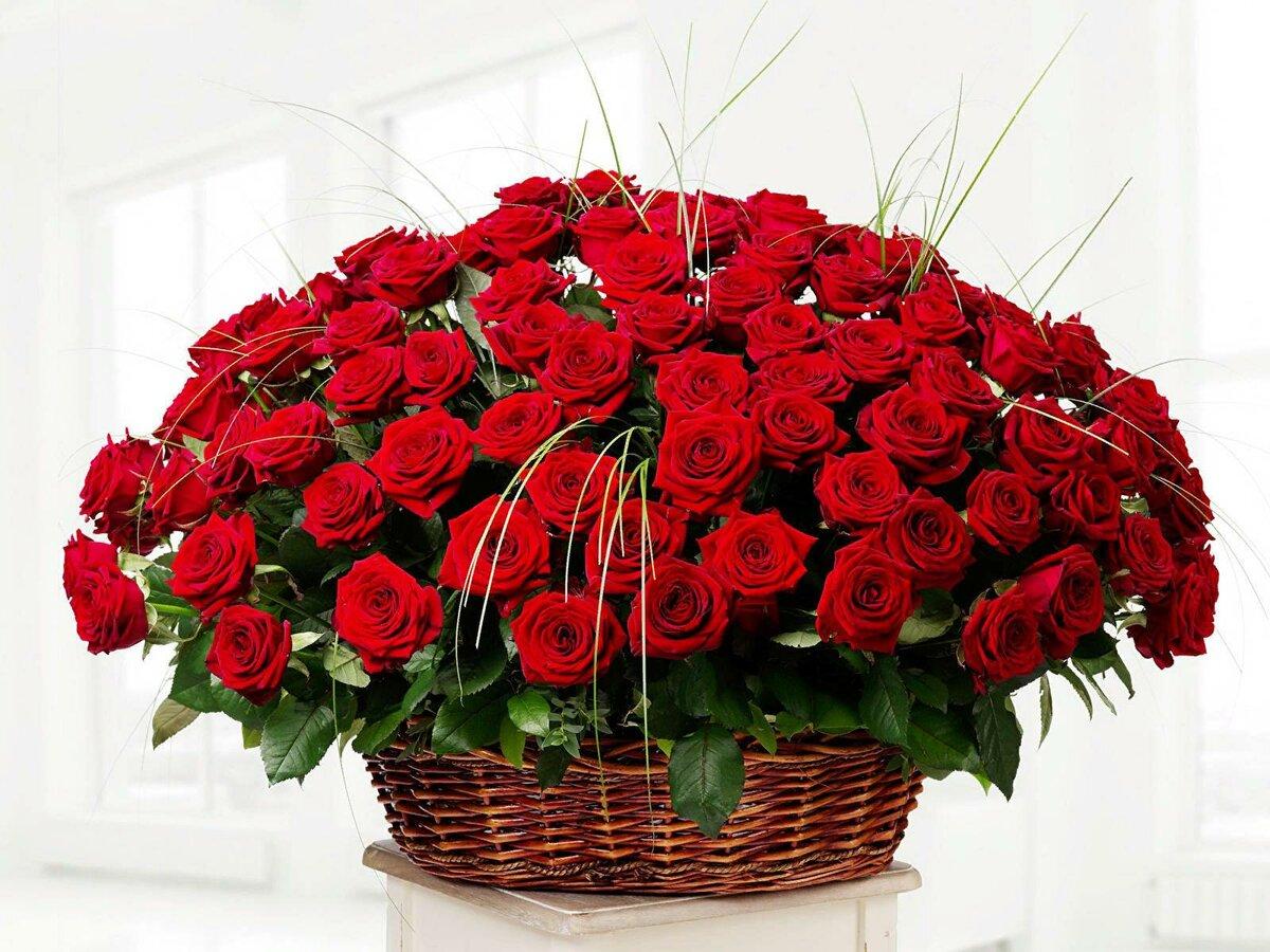 Красивые открытки с днем рождения большие цветы