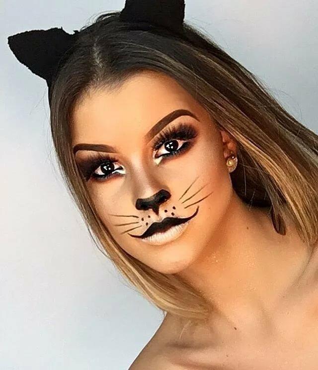 кустарник макияж для кошки картинки сказочной картинке все