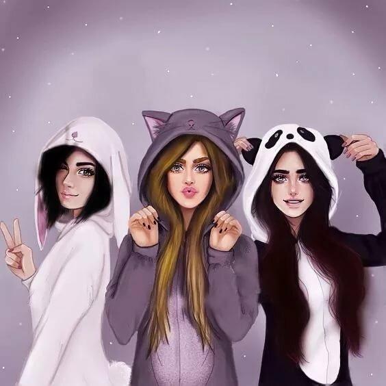 Картинка на группу в ватсапе для девочек