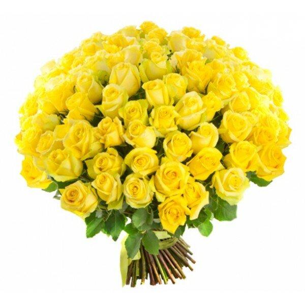Поздравления днем, картинка желтые розы с днем рождения