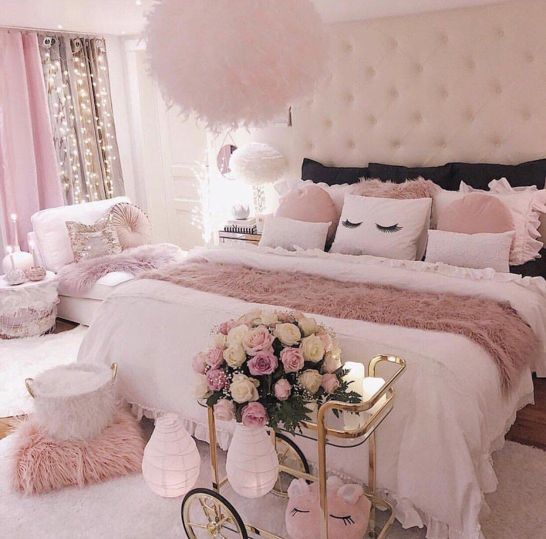 фото в бело розовых тонах