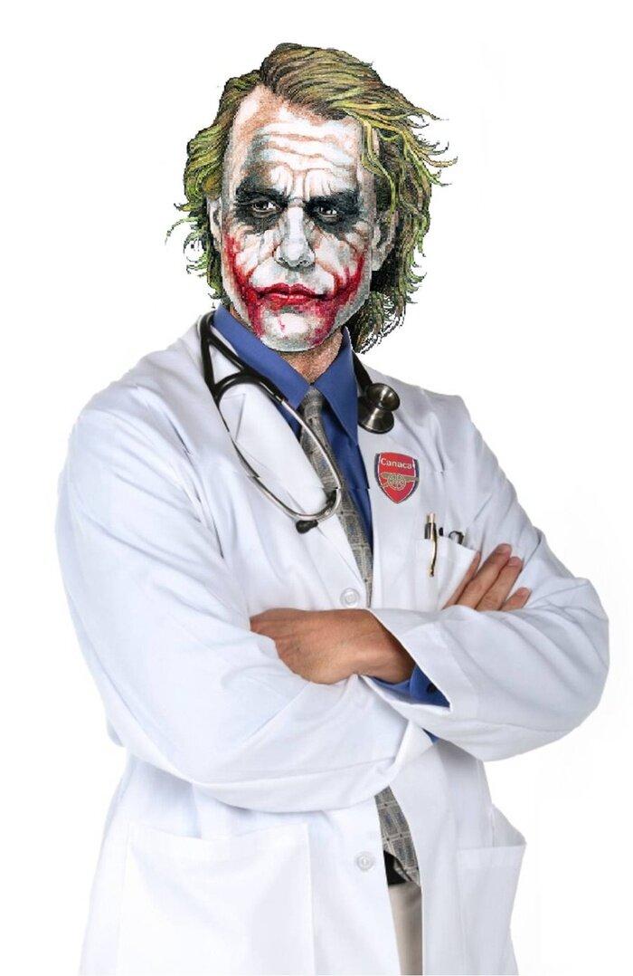 Картинка страшный врач