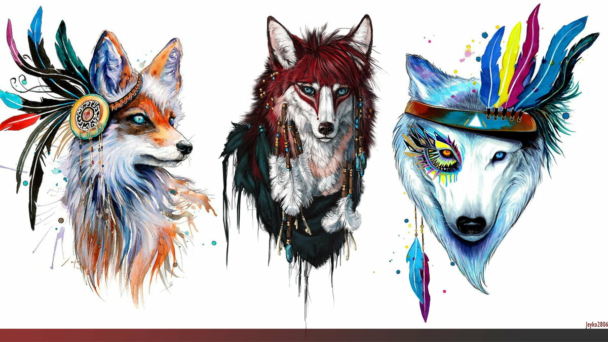 модернизации картинки хипстер с волками купюрах