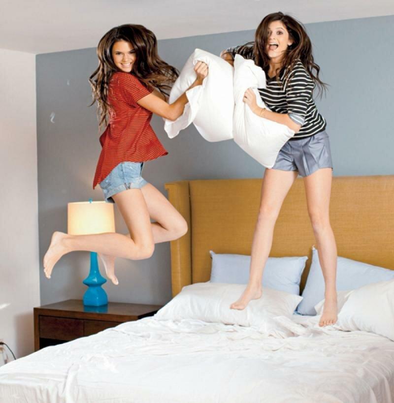 фото домашняя фотосессия две девушки - 9