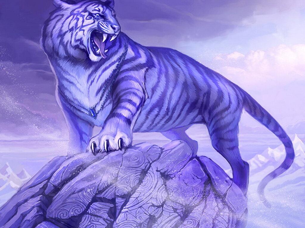 волосы картинки фэнтези и тигры частного