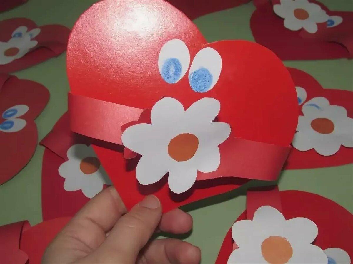 Открытки сердечки для мам