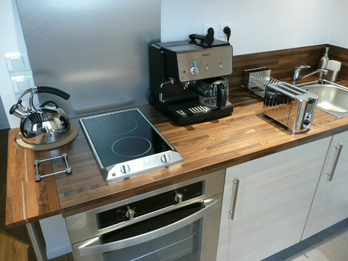 двухкомфорочная плита на кухне фото вами канал