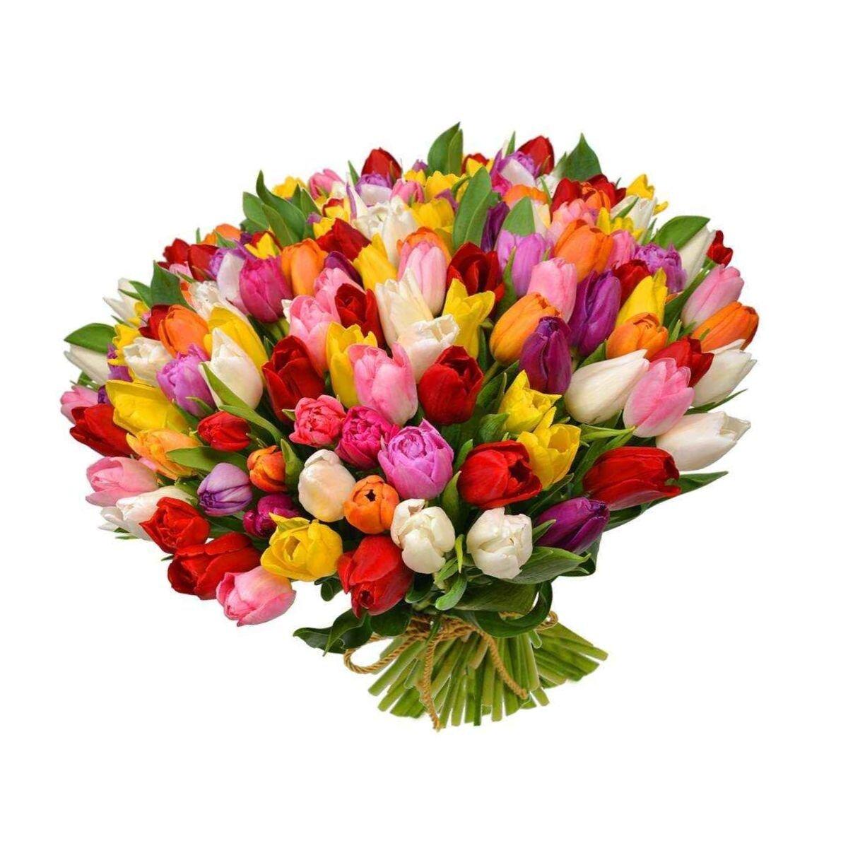 Купить цветы на 8 марта в спб