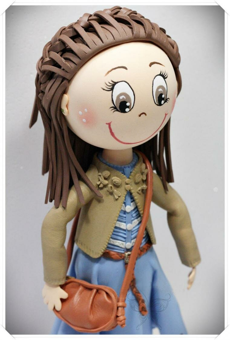 кукла из фоамирана своими руками бурение