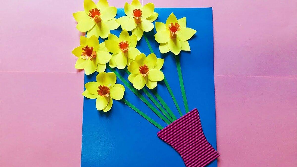 Для красивых, 3д открытка для мамы на 8 марта своими руками