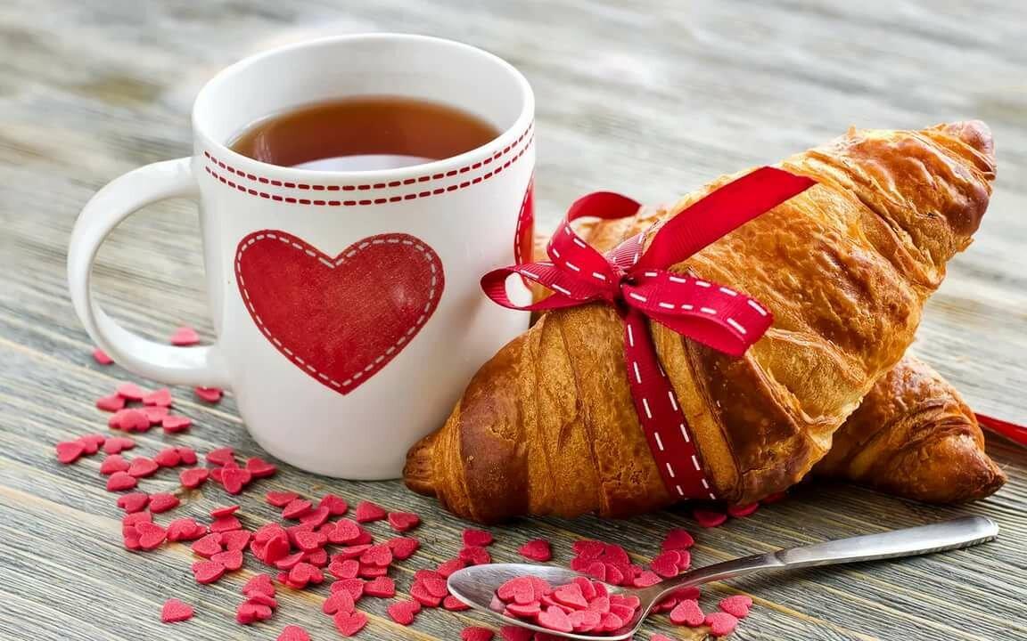 Открытки с выпечкой доброе утро