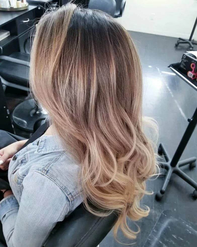 Модные покраски волос картинки
