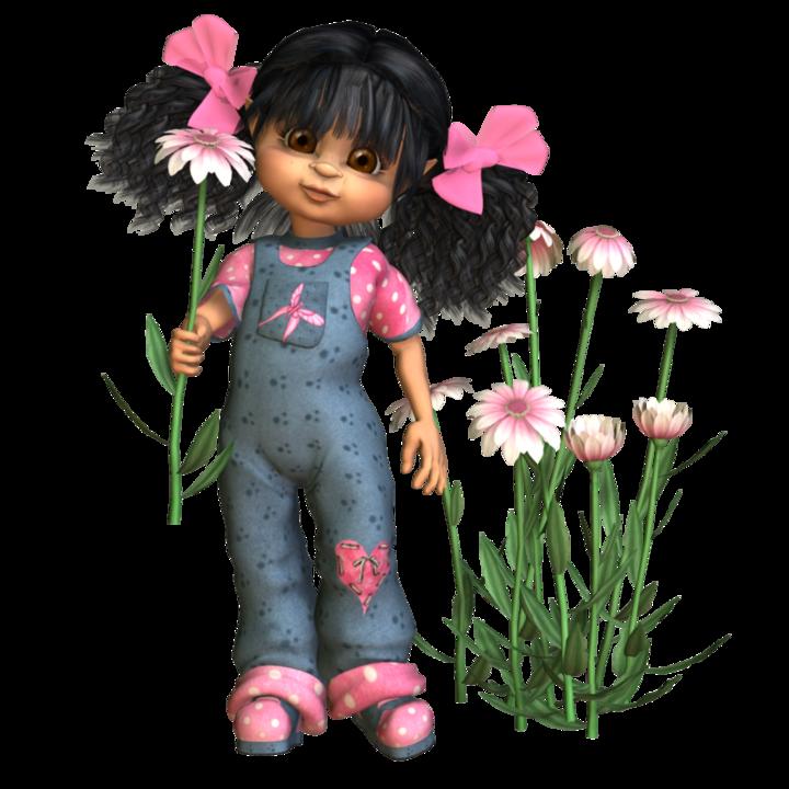 Картинки кукол с надписями, орхидей картинки поздравление