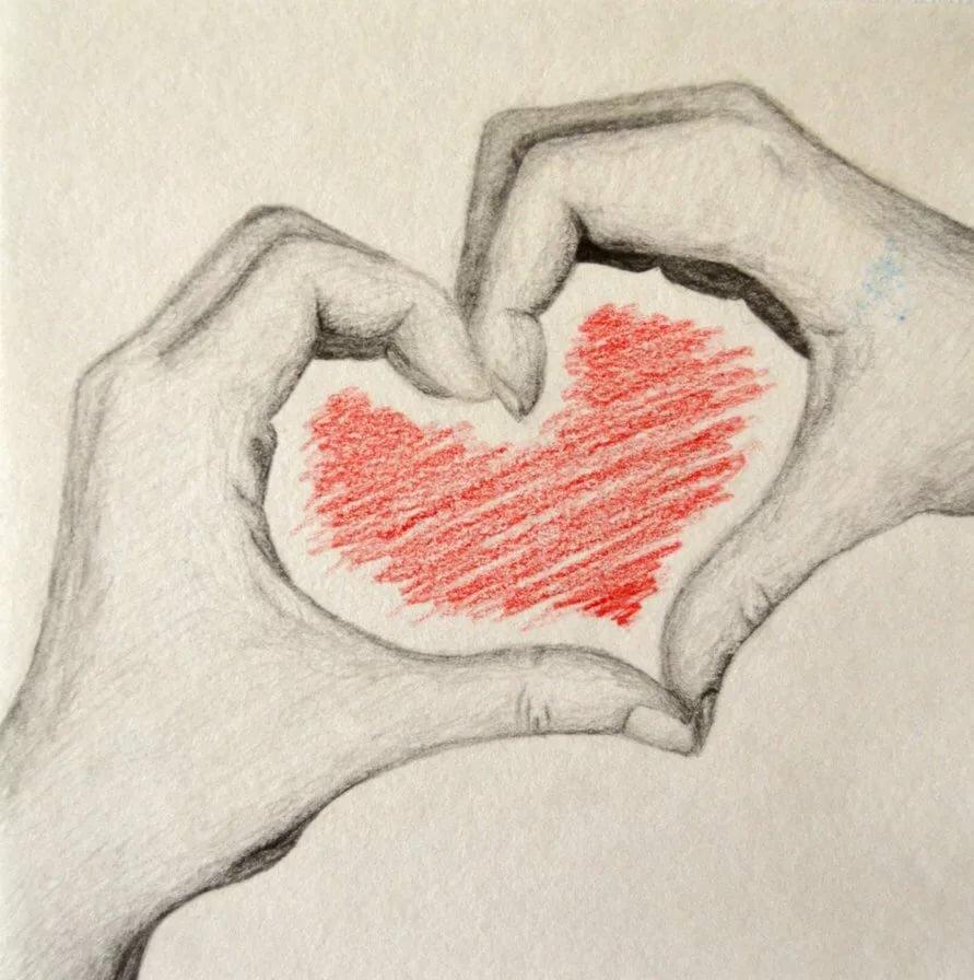 Сердце картинки красивые нарисованные, лет