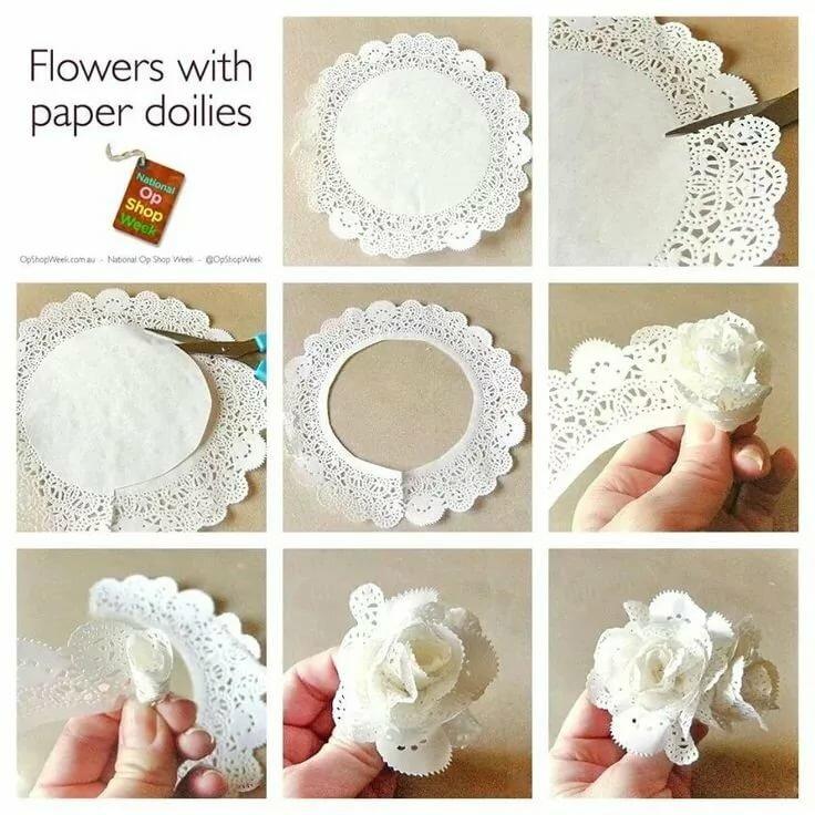 Открытка бумажные салфетки