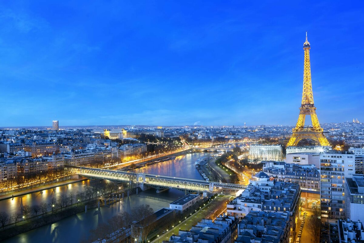 Картинка столица париж
