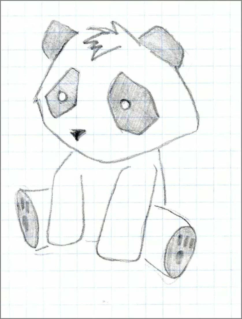 Прикольные рисунки карандашом для девочек для начинающих