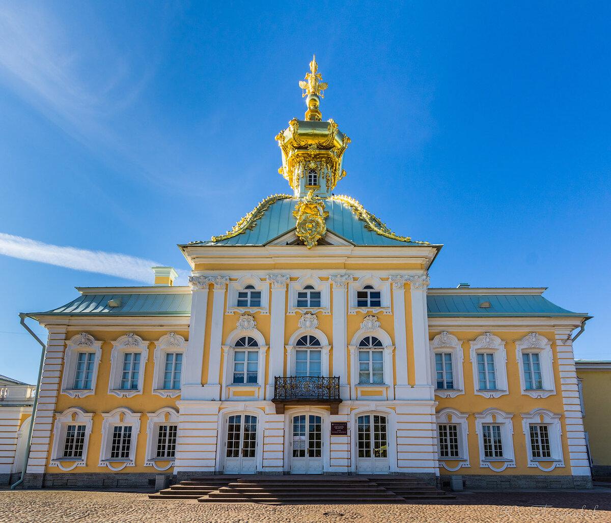 Картинки большого дворца в петергофе