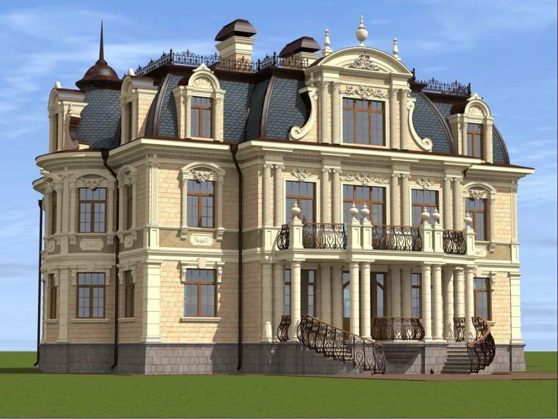 проекты домов в дворцовом стиле фото почему ной