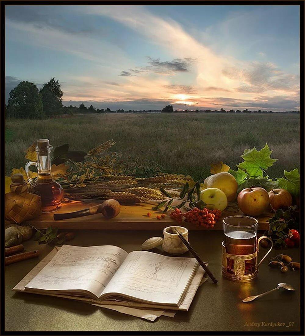 Месяца, красивые открытки с добрым вечером природа